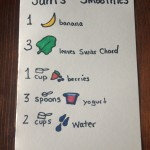 Kid's Recipes: Sam's Smoothies