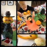 Fall Crafts for Kids: Gourd People