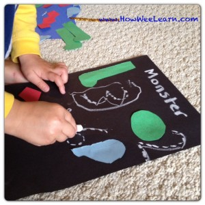 halloween craft counting
