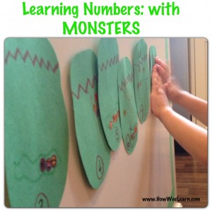 number monsters