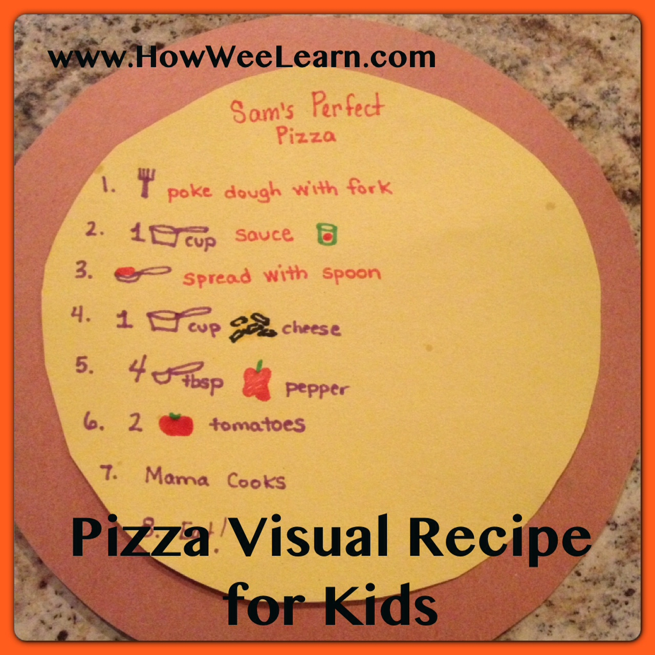 Tumblr notebook cover ideas little ideas notebook from the - Recipes For Kids Pizza How Wee Learn