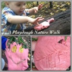 A Playdough Nature Walk