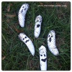 Not-so-Spooky Pine Cone Crafts And Matching Poems