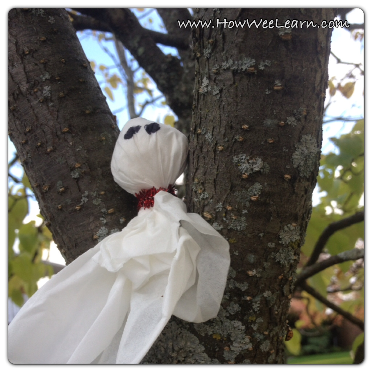 ... ghosts we s... Halloween Crafts For Kids Ghosts