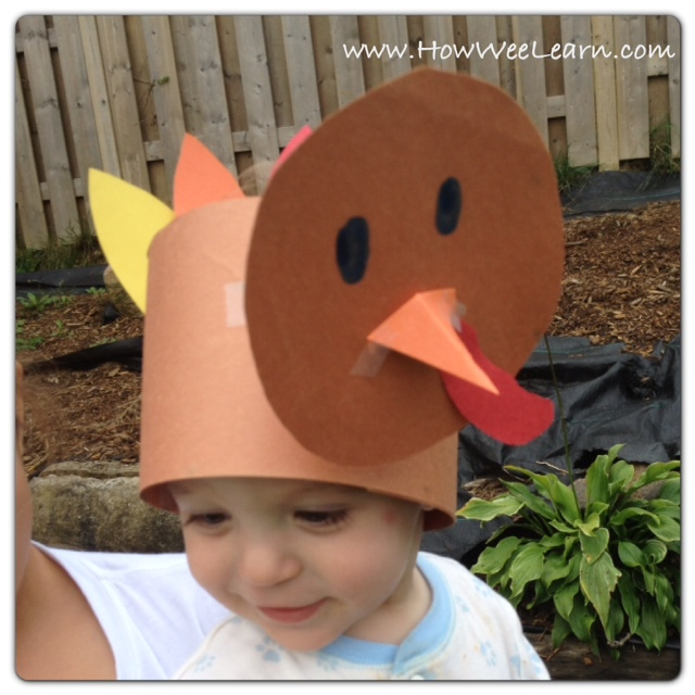 turkey craft hat