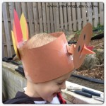 Thanksgiving Crafts for Kids: Bobbling Turkey Hat