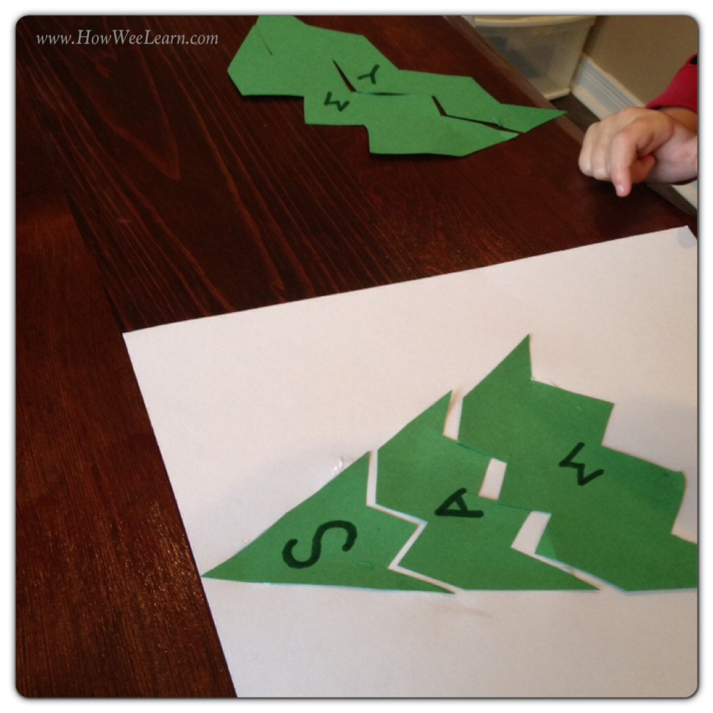 Christmas Name Puzzles