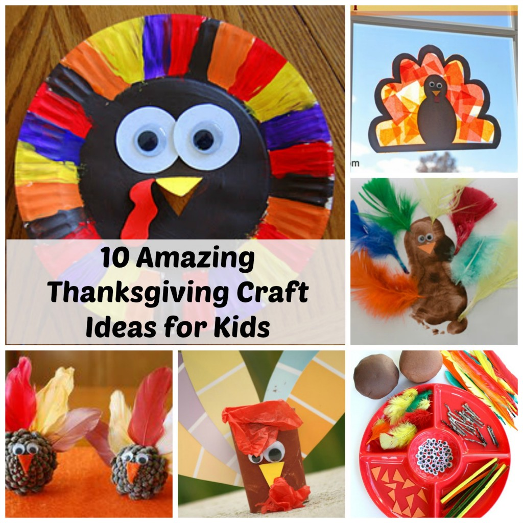 Thanksgiving decorations for kids - Thanksgiving Craft Ideas For Kids