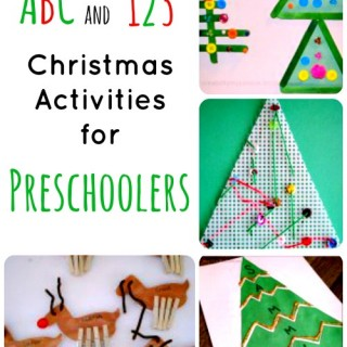 christmas activities learning collage