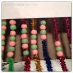 Math Beads!  Fun Counting Games With Kids
