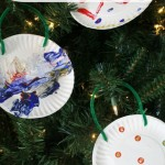 A Simple Paper Plate Christmas Craft for Kids