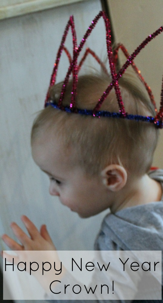 DIY Crown to celebrate the New Year