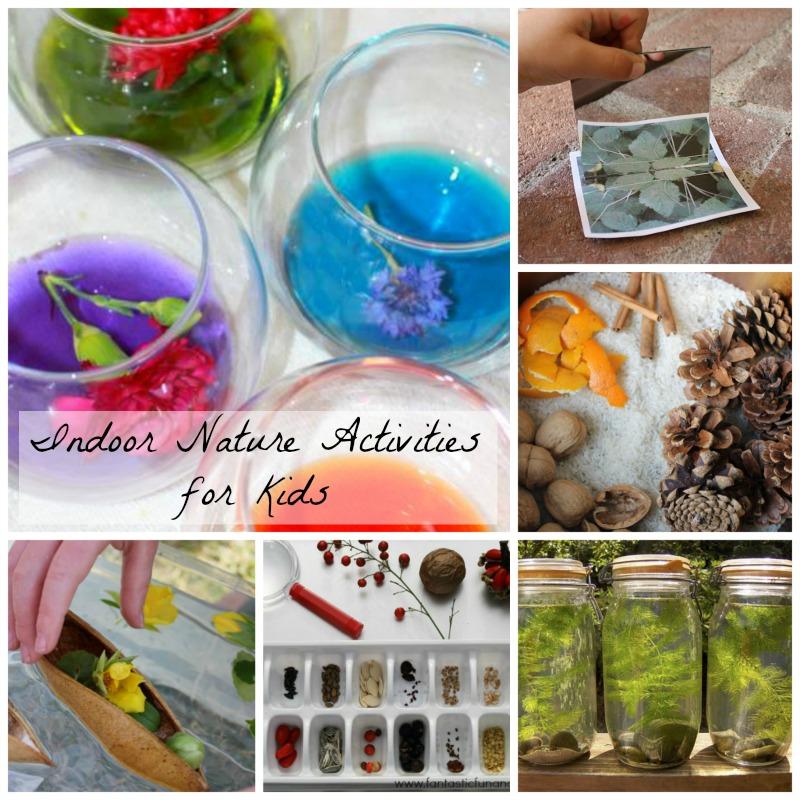Indoor nature activities for kids how wee learn for Indoor crafts for kids