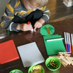 Invitation to Create Christmas Ornaments for Preschoolers