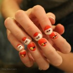 Santa Nail Design: Adorable and Simple!
