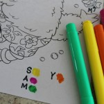 Teaching Letter Recognition with a Colouring Book
