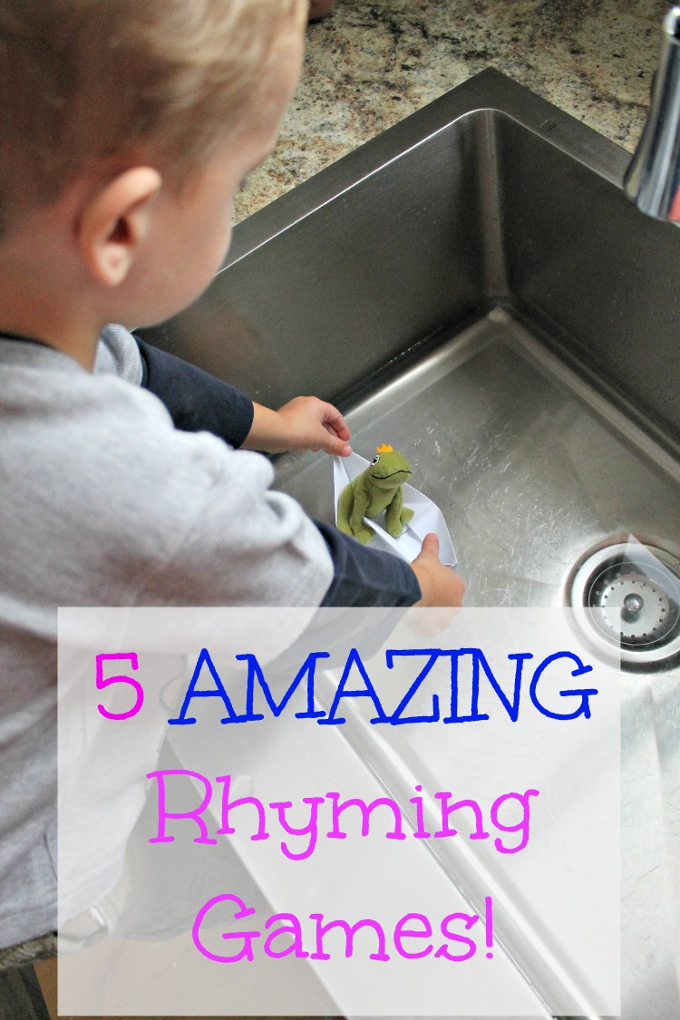5 amazing rhyming activities for kids
