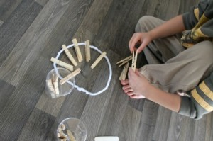 craft with clothespins