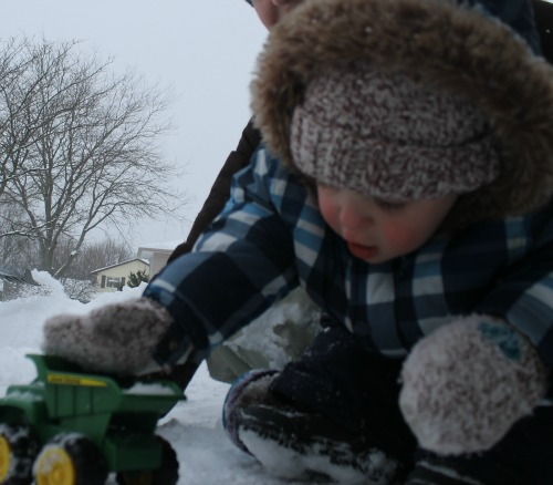 outdoor snow activity