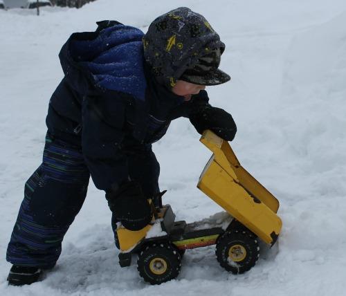 outdoor snowy activity