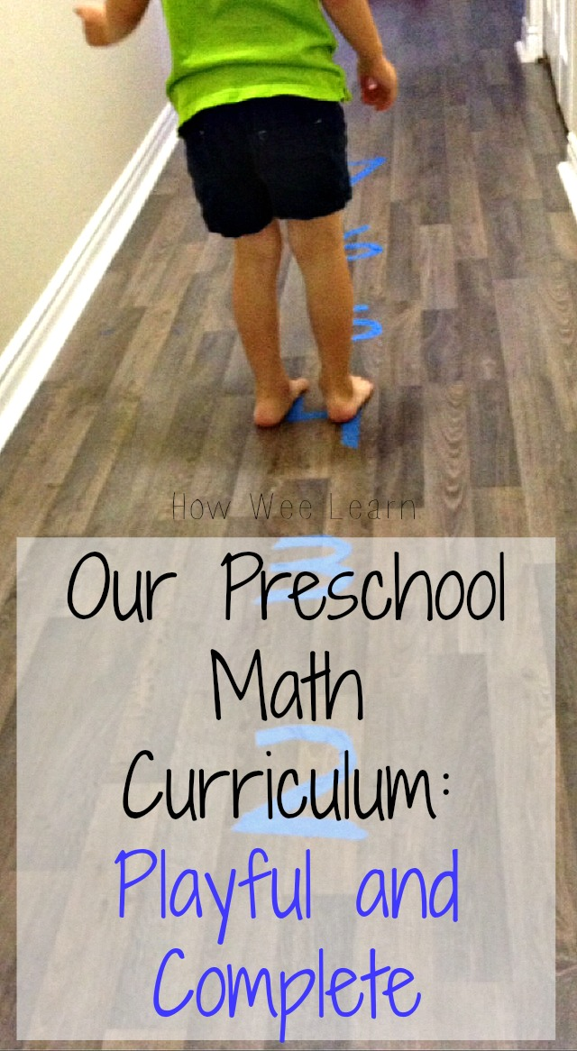 Wee learn curriculum guide for four year olds