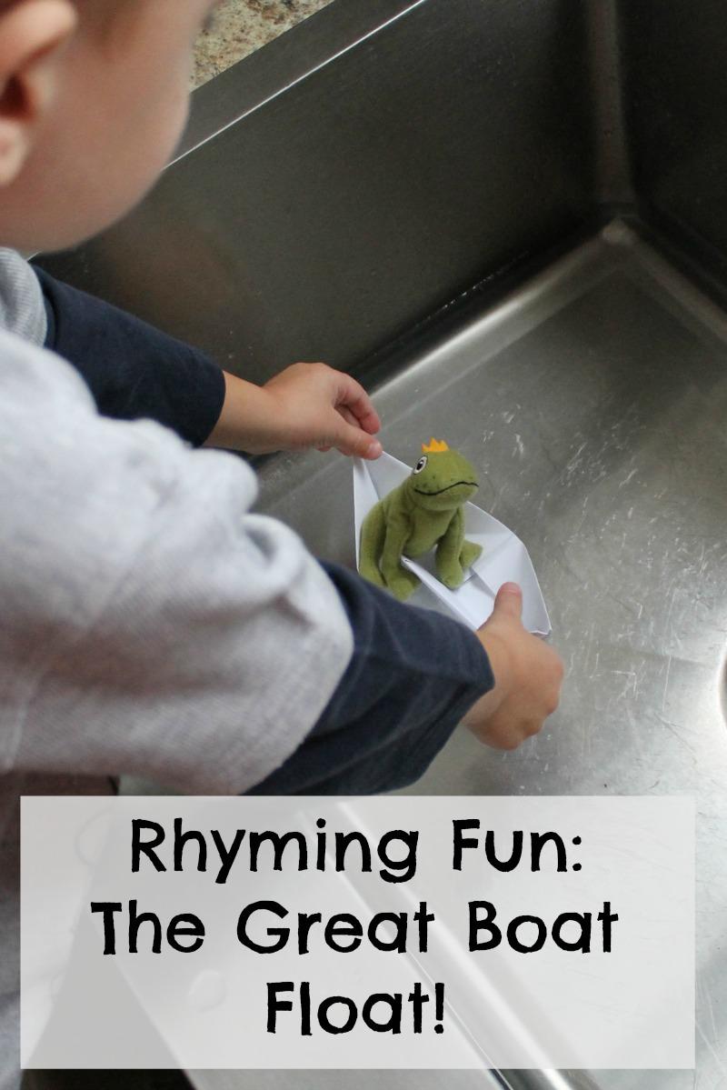 teaching rhyming to preschoolers