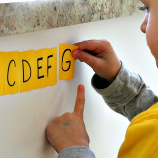 Alphabet recognition activities for preschoolers and a step by step guide for how to teach the letters of the alphabet to kids!