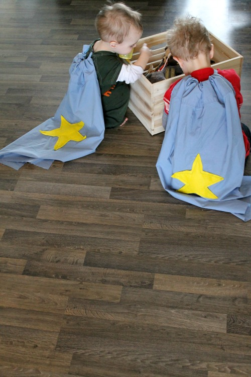 how to make easy super hero capes how we learn