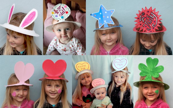 75 simple paper plate crafts for every occasion how wee for Craft hats for kids