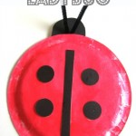 ladybug paper plate crafts for kids