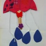 a rainy day preschool spring craft