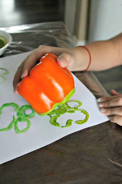st patricks day craft shamrocks