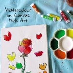 watercolor painting ideas for kids