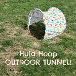 Hula Hoop Outdoor Tunnel