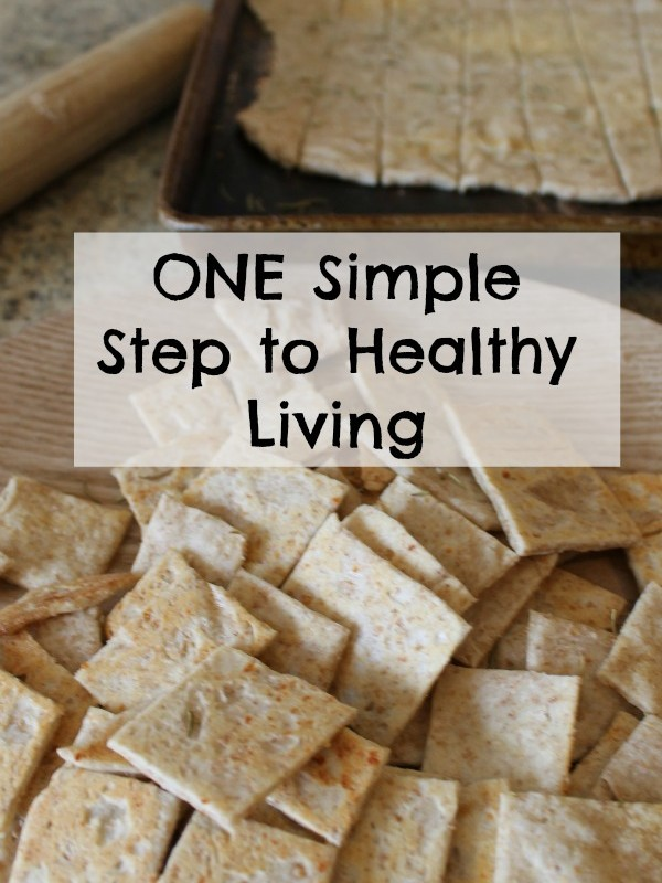 one simple step to healthy living