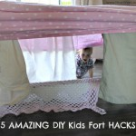 AMAZING DIY Kids Forts!