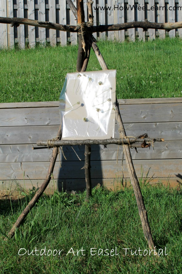 How To Build An Easel For Free