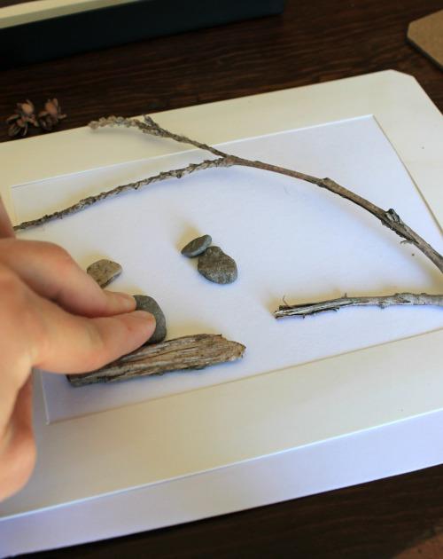 diy pebble art tutorial how wee learn