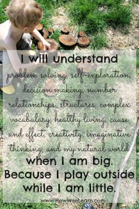 Quotes to inspire a love of nature and play
