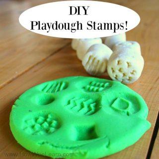 DIY playdough stamp new