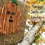 Twiggy Jack-o-Lantern