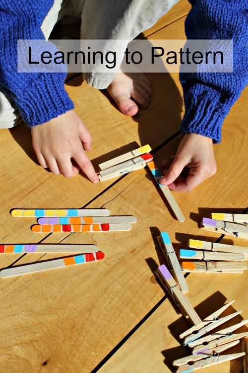 pattern activities for preschoolers