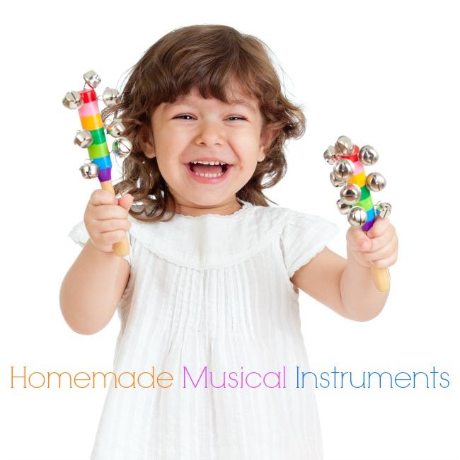 42 Spledidily creative homemade musical instruments for kids!