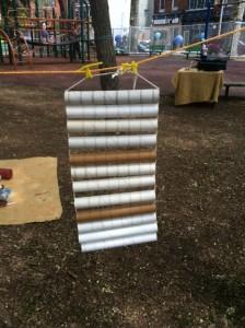 homemade musical instruments cardboard guiro