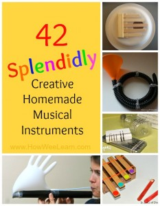 42 Splendidly Creative Homemade Musical Instruments