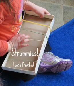 homemade musical instruments strummies