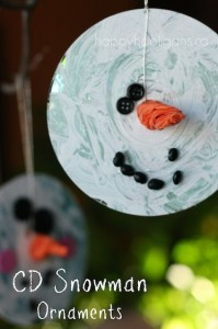 cute snowman crafts for kids