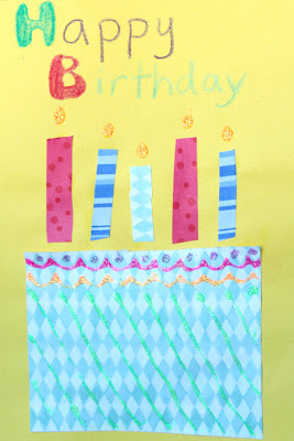 homemade birthday cards for kids to create  how wee learn, Birthday card