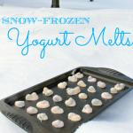 Snow-Frozen Yogurt Melts