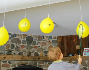 Swat the ABC Balloons